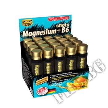 Съдържание » Цена » Прием »  Magnesium + B6 Shots