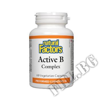 Действие на BioCoenzymated ACTIVE B-КОМПЛЕКС мнения.Най-ниска цена от Fhl.bg-хранителни добавки София