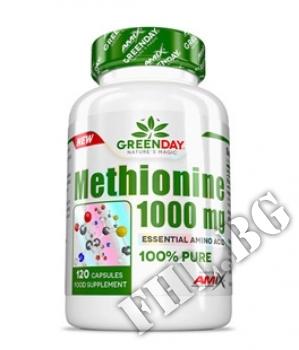 Съдържание » Цена » Прием » GreenDay METHIONINE 1000 mg