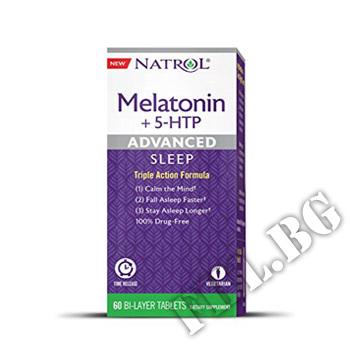 Действие на Advanced Sleep Melatonin + 5-HTP мнения.Най-ниска цена от Fhl.bg-хранителни добавки София