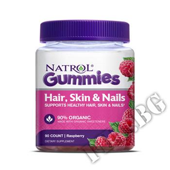Съдържание » Цена » Прием » Hair, Skin & Nails Gummies 90 gummies