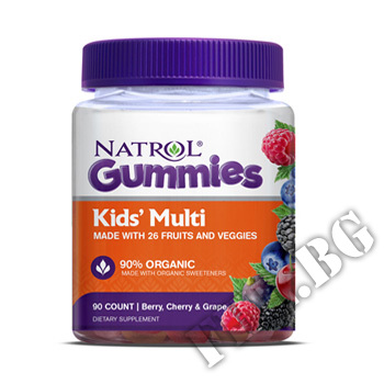 Съдържание » Цена » Прием » Kids Multi Gummies 90 gummies