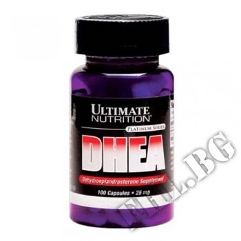 Съдържание » Цена » Прием »  Ultimate DHEA 25 mg 100 Caps
