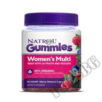 Действие на Womens Multi Gummies мнения.Най-ниска цена от Fhl.bg-хранителни добавки София