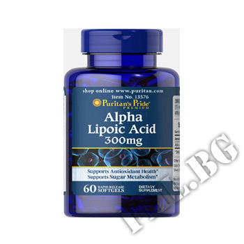 Съдържание » Цена » Прием » Alpha Lipoic Acid 300 mg 60 caps