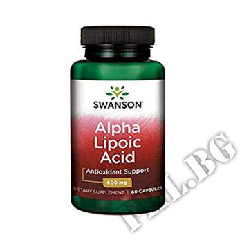 Съдържание » Цена » Прием »  Alpha Lipoic Acid  600 mg 60 caps