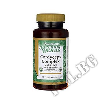 Съдържание » Цена » Прием » Cordyceps Complex 60 Veg Capsules