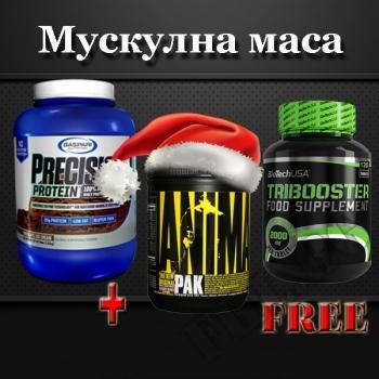 Действие на Gaspari Precision Protein 908 gr + Tribooster 120 подарък Animal Pak Powder мнения.Най-ниска цена от Fhl.bg-хранителни добавки София