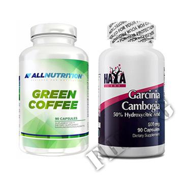Съдържание » Цена » Прием » Зелено кафе 90 капс. и Гарциния…