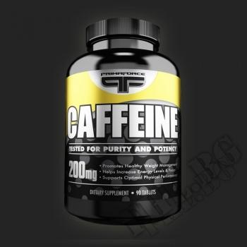 Съдържание » Цена » Прием » Primaforce caffeine 90 tabs.