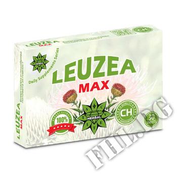 Съдържание » Цена » Прием » Левзея Макс - 30 таблетки