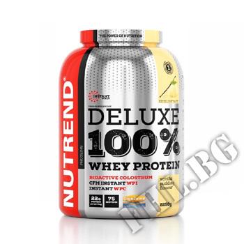 Действие на Deluxe 100% Whey - 2250g мнения.Най-ниска цена от Fhl.bg-хранителни добавки София