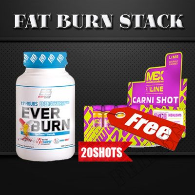 Promo Stack 1+1 Ever Burn Carni-Shot