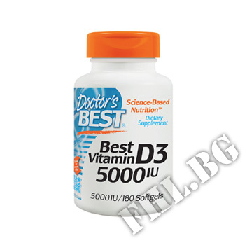 Действие на Vitamin D3 5000IU - 180 Caps мнения.Най-ниска цена от Fhl.bg-хранителни добавки София