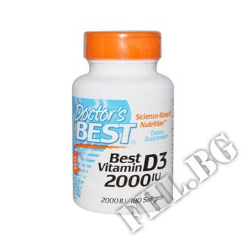 Действие на Vitamin D3 2000IU - 180 Caps мнения.Най-ниска цена от Fhl.bg-хранителни добавки София