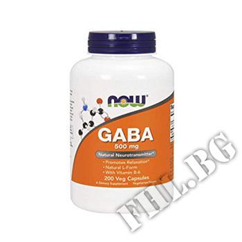 Съдържание » Цена » Прием » GABA 500mg - 200 Caps