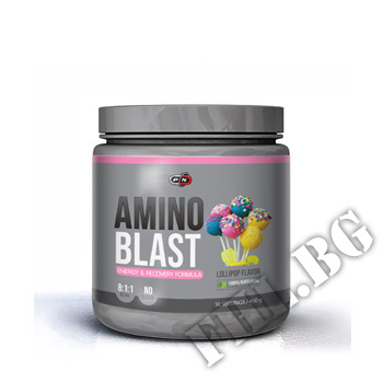 Съдържание » Цена » Прием » Amino Blast Lollipop Naturally Flavored - 450 g