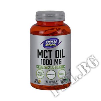 Съдържание » Цена » Прием » MCT Oil 1000 mg - 150 Softgels