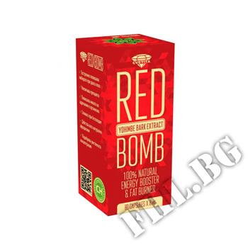 Съдържание » Цена » Прием » Red X Bomb - Йохимбе 80 капсули