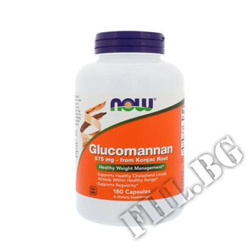 Съдържание » Цена » Прием » Glucomannan 575 mg / 180 Caps.