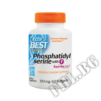 Съдържание » Цена » Прием » Phosphatidylserine with SerinAid 100 mg - 60 Caps