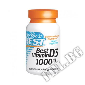 Съдържание » Цена » Прием » Vitamin D3 1000IU - 180 Caps