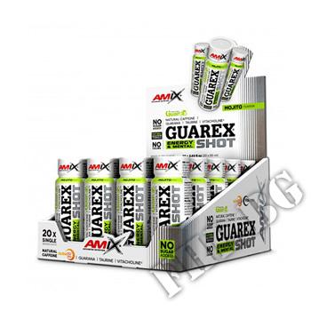 Съдържание » Цена » Прием »  Guarex Energy & Mental SHOT Box - 60ml
