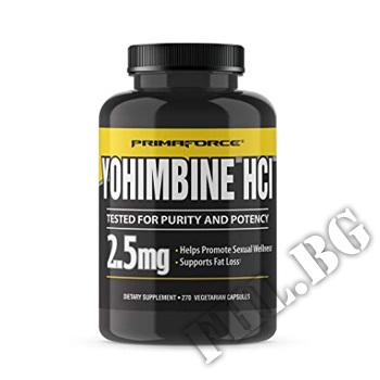 Действие на Yohimbine HCL 2.5 mg - 270 Caps мнения.Най-ниска цена от Fhl.bg-хранителни добавки София