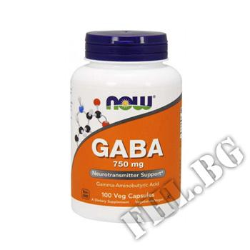 Съдържание » Цена » Прием » GABA 750 mg - 100 caps