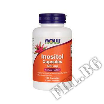 Съдържание » Цена » Прием » Inositol 500 mg - 100 caps