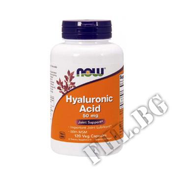 Действие на Hyaluronic Acid & MSM - 120 Caps мнения.Най-ниска цена от Fhl.bg-хранителни добавки София