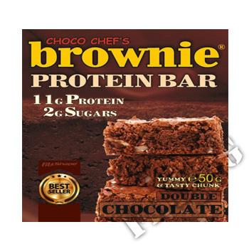Съдържание » Цена » Прием » Brownie Protein Bar Mini - 50 грама