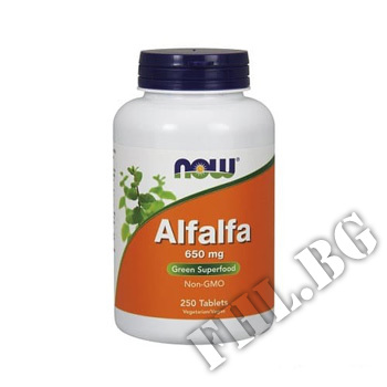 Съдържание » Цена » Прием » Alfalfa 650mg 250 tab
