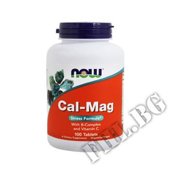 Съдържание » Цена » Прием »  Cal-Mag,  Stress Formula, 100 Tablets