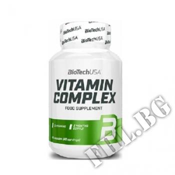 Действие на  Vitamin Complex 60 Tabs мнения.Най-ниска цена от Fhl.bg-хранителни добавки София