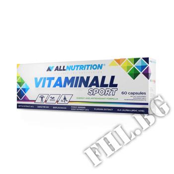 Действие на Allnutrition Vitaminall Sport 60 Caps мнения.Най-ниска цена от Fhl.bg-хранителни добавки София