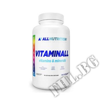 Действие на Vitaminall Vitamins and Minerals - 60 Caps мнения.Най-ниска цена от Fhl.bg-хранителни добавки София