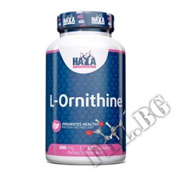 Съдържание » Цена » Прием »  L-ornithine 500 mg / 60 caps.