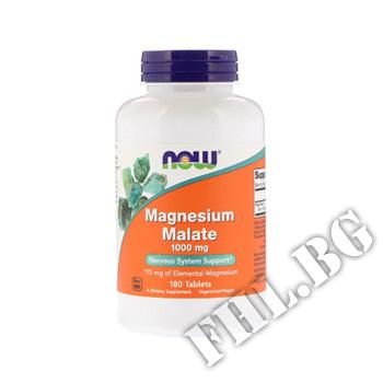 Съдържание » Цена » Прием »  Magnesium Malate 1000 mg 180 tab