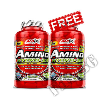 Съдържание » Цена » Прием » Promo Stack 1+1 Free Amino HYDRO