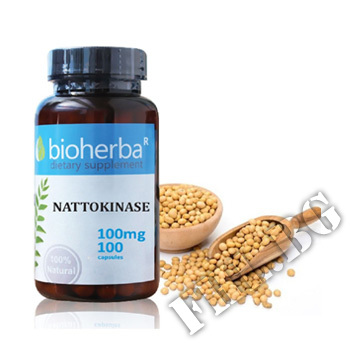 Съдържание » Цена » Прием » Натокиназа 100 мг 100 капс.