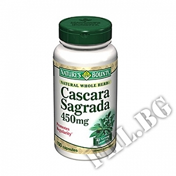 Cascara Sagrada Nature's Bounty /натурален лаксатив