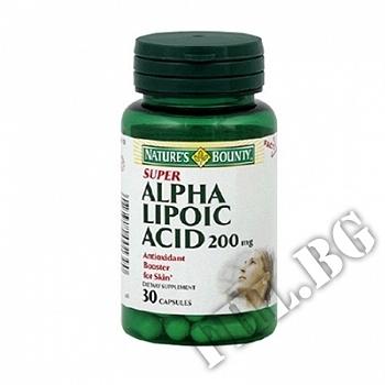 Съдържание » Цена » Прием » Alpha Lipoic Acid NB