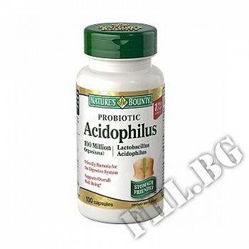Действие на Ацидофилус/Nature's Bounty Acidophilus with Bifidus мнения.Най-ниска цена от Fhl.bg-хранителни добавки София
