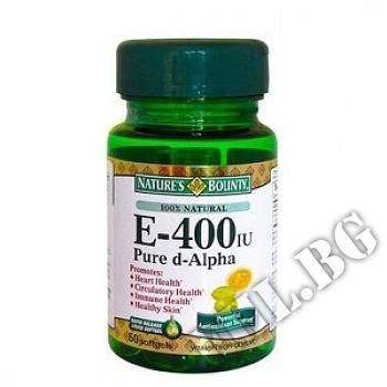 Действие на Vitamin E 400 IU NB мнения.Най-ниска цена от Fhl.bg-хранителни добавки София