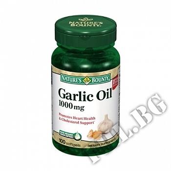 Действие на Garlic Oil мнения.Най-ниска цена от Fhl.bg-хранителни добавки София