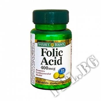 Действие на Folic Acid 400 mcg мнения.Най-ниска цена от Fhl.bg-хранителни добавки София