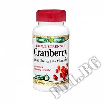Действие на Червена боровинка + витамин С/Nature's Bounty Cranberry мнения.Най-ниска цена от Fhl.bg-хранителни добавки София