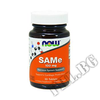 Действие на SAM-E 100 мг /S-Adenosylmethionine  мнения.Най-ниска цена от Fhl.bg-хранителни добавки София