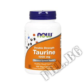 Съдържание » Цена » Прием » Taurine 1000 мг - 100 капсули